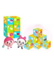 Кубики Малышарики Азбука Мякиши