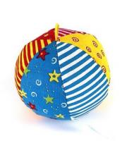 Мяч с погремушкой Радуга Мякиши