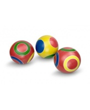 Мяч детский Кружочки 125 см ручное окрашевание в ассортименте Мячи Чебоксары