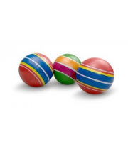 Мяч детский Полосатики 75 см ручное окрашевание в ассортименте Мячи Чебоксары