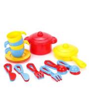 Набор детской посуды Top chef с корзинкой № 2 на 4 персоны Полесье