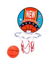 Набор для игры баскетбол Чемпион щит 15 см мяч 8 см в ассортименте Наша Игрушка