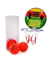 Набор для игры баскетбол Чемпион-2 щит 15 см мяч 8 см 3 штуки в ассортименте Наша Игрушка