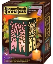 Набор для изготовления фонарика Волшебный лес Клевер Медиа Групп