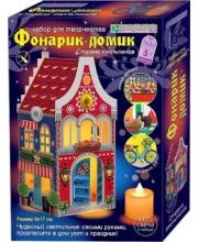Набор для изготовления фонарика-домика Страна тюльпанов Клевер Медиа Групп
