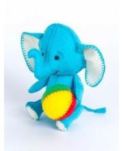 Набор для изготовления текст игрушки Слоник Перловка