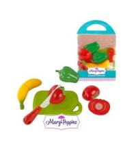 Набор для резки овощи и фрукты 4 шт в ассортименте Mary Poppins