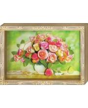 Набор для творчества Объемная картинка Любимый букет Розы Клевер Медиа Групп