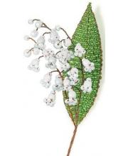 Набор для творчества Цветы из бисера Нежный ландыш Клевер Медиа Групп