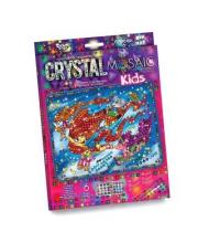 Набор креативного творчества Crystal Mosaic Kids Пони Данко-Тойс