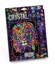 Набор креативного творчества Crystal Mosaic Лев Данко-Тойс