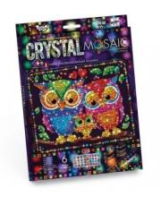 Набор креативного творчества Crystal Mosaic Совы Данко-Тойс