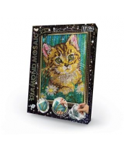 Набор креативного творчества Diamond Mosaic малый Котёнок Данко-Тойс