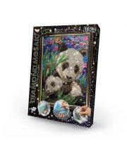 Набор креативного творчества Diamond Mosaic малый Панды Данко-Тойс