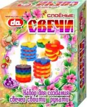 Набор Слоёные свечи Бабочки-цветочки Дети Арт