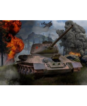 Пазл Super 3D Танк Т-34 500 детал Prime 3D