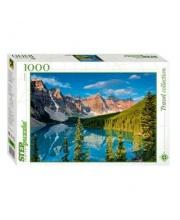 Пазлы 1000 Горное озеро Степ
