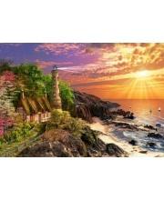 Пазлы 500 Дом на побережье Кастор