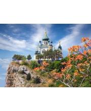Пазлы 500 Храм в Форосе Крым Кастор
