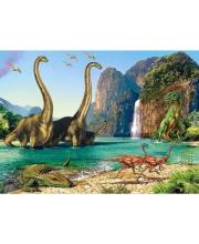 Пазлы 60 Динозавры midi Кастор