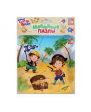 Пазлы магнитные Пираты Vladi Toys