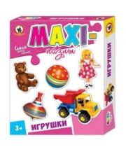 Пазлы Макси Игрушки Русский стиль