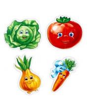 Пазлы мягкие Baby puzzle Овощи Vladi Toys