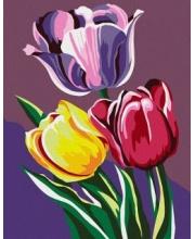Роспись по холсту Тюльпаны Артвентура