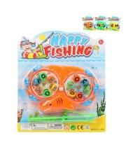 Рыбалка заводная игровое поле + 12 фигурок + 2 удочки в ассортименте Наша Игрушка