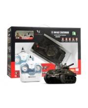 Танк радиоуправлении US M4 Sherman 4 канала пневмо пушка VSP