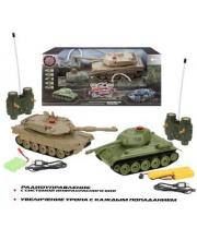 Танковый бой радиоуправлении Т34 - Abrams M1A2 Пламенный мотор
