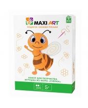 Набор для Творчества Игрушка из Фетра Пчёлка Maxi Art