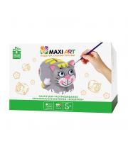 Набор для Раскрашивания Керамическая Копилка Кошечка Maxi Art