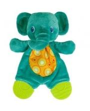 Развивающая игрушка Самый мягкий друг Слонёнок с прорезывателями Bright Starts