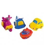 Игрушки для ванны Vehicles Машины 4 штук Canpol Babies