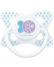 Пустышка Summertime симметричная силикон рисунок Рыбка Canpol Babies