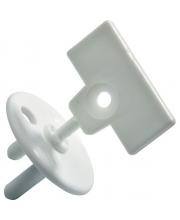 Заглушка для розетки с ключом 12 штук Safety 1st