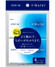 Салфетки бумажные платочки Water 56 штук Elleair
