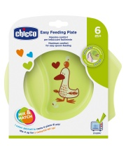 Тарелка с разделителем Easy Feeding Chicco
