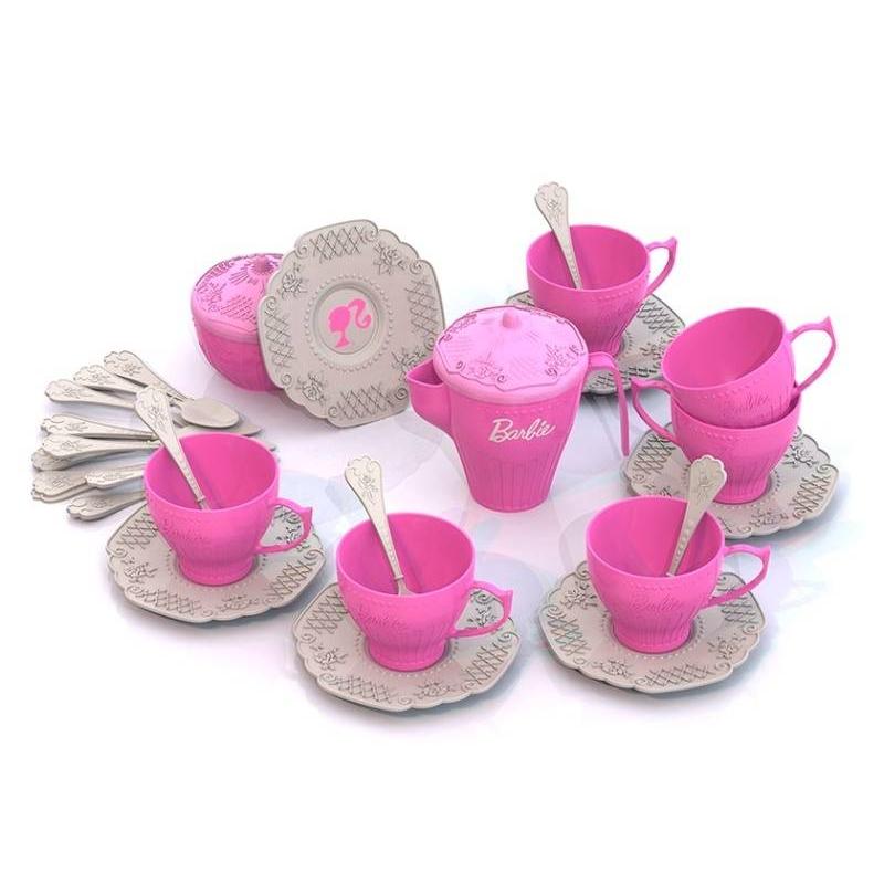 Набор чайной посуды Барби 34 пр Набор чайной посуды Барби 34 пр