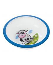 Миска пластиковая Little cow рисунок коровка Canpol Babies