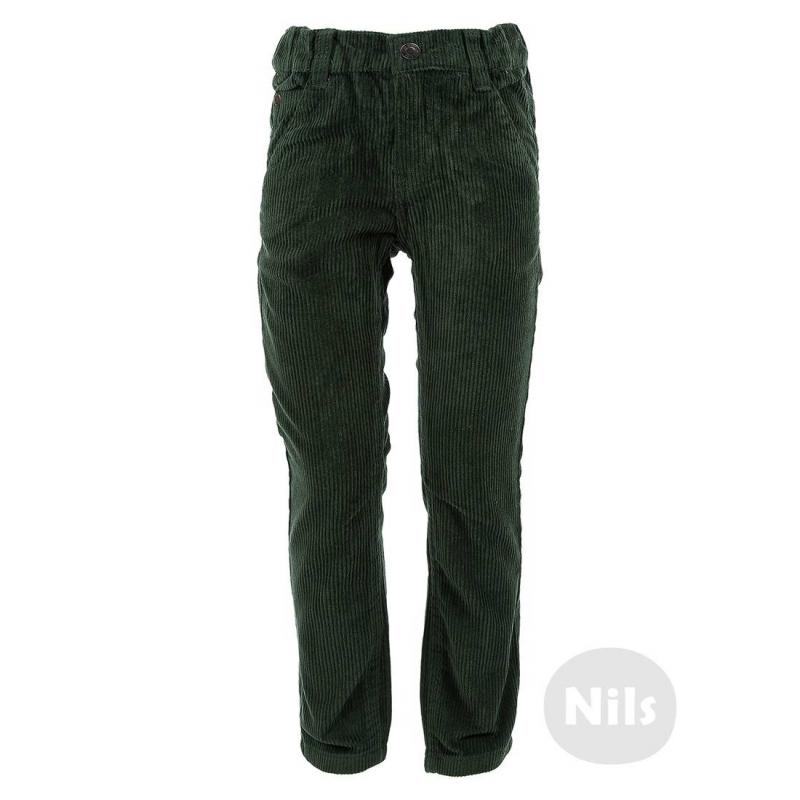 БрюкиТемно-зеленые вельветовые брюки марки BLUE SEVEN для мальчиков. Брюки с пятью карманами выполнены из плотного вельвета, застегиваются на молнию и застежку-крючок. Регулируемый специальными пуговицами пояс обеспечивает отличную посадку.<br><br>Размер: 5 лет<br>Цвет: Зеленый<br>Рост: 110<br>Пол: Для мальчика<br>Артикул: 604420<br>Страна производитель: Бангладеш<br>Сезон: Всесезонный<br>Состав: 100% Хлопок<br>Бренд: Германия
