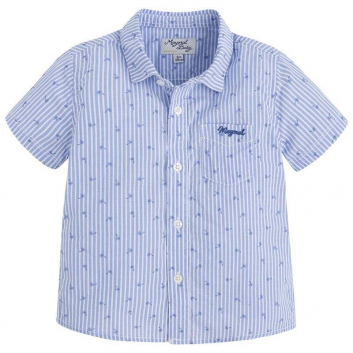 Малыши, Рубашка MAYORAL (голубой)640754, фото