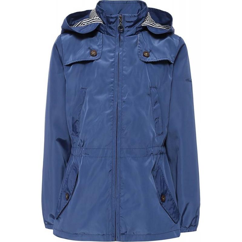 КурткаКуртка синегоцвета марки Finn Flare для девочек.<br>Стильная куртка-ветровка выполнена в насыщенномцвете. Хлопковаяподкладка декорирована принтом в сине-белую полоску. Модель дополнена отстегивающимся капюшоном и четырьмякарманами, а также кулиской на талии.<br><br>Размер: 13 лет<br>Цвет: Синий<br>Рост: 158<br>Пол: Для девочки<br>Артикул: 640363<br>Страна производитель: Китай<br>Сезон: Весна/Лето<br>Состав: 100% Полиэстер<br>Состав подкладки: 95% Хлопок, 5% Полиэстер<br>Бренд: Финляндия<br>Вид застежки: Молния