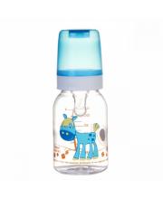 Бутылочка Cheerful animals силиконовая соска 120 мл лошадка Canpol Babies