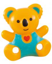 Клипса-держатель для пустышек Медвежонок с сердечком Canpol Babies