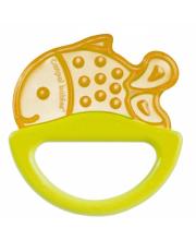 Погремушка с эластичным прорезывателем форма рыбка Canpol Babies