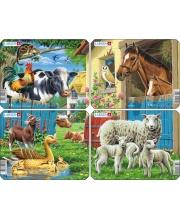Пазл Животные фермы в ассортименте 7 деталей LARSEN