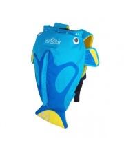 Рюкзак для бассейна и пляжа Коралловая рыбка голубой Trunki