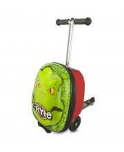 Самокат-чемодан Динозавр Zinc